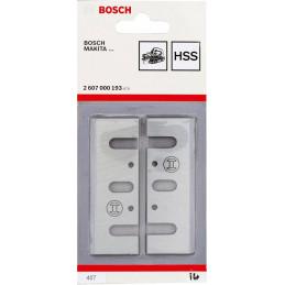 Cuchillas Para Cepillo Electrico Bosch GHO 10-82 2PZ 2607000193