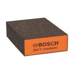Taco Esponja Abrasivo Recto Bosch Gr. 180/240 Medio 2608608225