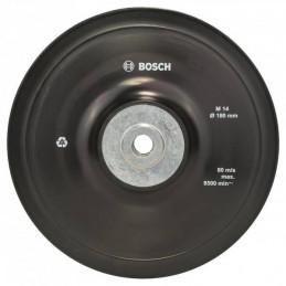 Plato de Lijado Goma Bosch 180mm Para Fibrodisco M14 2608601209