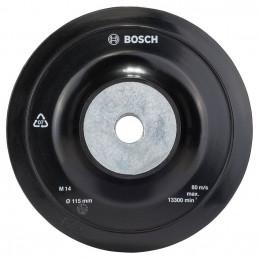 Plato de Lijado Goma Bosch 115mm Para Fibrodisco M14 2608601005