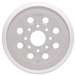 Plato de Lijado Bosch 125mm Velcro 8 huecos GEX 125-1 AE 2608000351