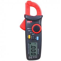 Pinza Amperimetrica Digital Mini UNI-T UT-210A, ACDC600V AC200A Resistencia Temperatura Capacitancia Frecuencia