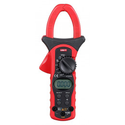 Pinza Amperimetrica Digital UNI-T UT-205A, ACDC600V AC1000A Corriente Voltaje Resistencia Frec