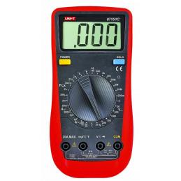 Multimetro Digital UNI-T UT-151C, ACDC 750V 20A Resistencia Capacitancia Continuidad Diodo Temperatura