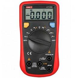 Multimetro Digital UNI-T UT-136B, Voltaje ACDC 500V 10A Capacitancia Frecuencia Resistencia diodo Continuidad
