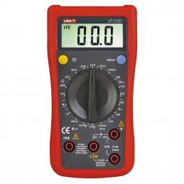 Multimetro Digital UNI-T UT-132D, Voltaje ACDC 250V DC 10A Capacitancia diodo Continuidad Resistencia