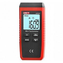 Tacometro Mini Laser Digital UNI-T UT-373, 10 - 10000 RPM sin Contacto Rango Automatico