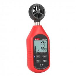 Anemometro Mini Digital UNI-T UT-363BT Velocidad del Viento M Km Nudos Mph ft y Temperatura con Bluetooth