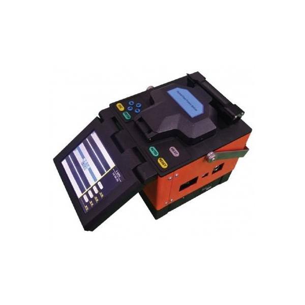 Kit Fusionadora Digital de Fibra Optica Compacta con Bateria Empalmadora ST3100B Senter