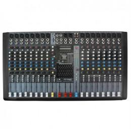 Mezcladora de Audio 16CH con Ecualizador MP3 USB/SD Bluetooh, PZ-MD16DSP Potenza