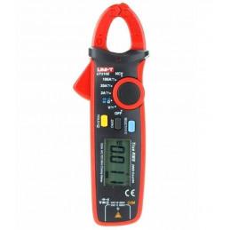 Pinza Amperimetrica Digital Mini UNI-T UT-210E TRUE RMS, ACDC600V 100A Corriente Voltaje Resistencia Capacitancia continuidad