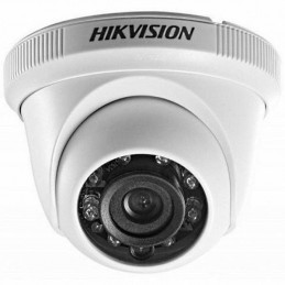Camara Domo Hikvision DS-2CE56C0T-IRPF, Analogo Indoor HD720p 2.8mm IR 20m Plastico IP66