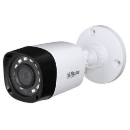 Camara Bullet Dahua HAC-HFW1200R-S4 2MP 4en1 1080 2.8mm Smart IR+ 20m IP67