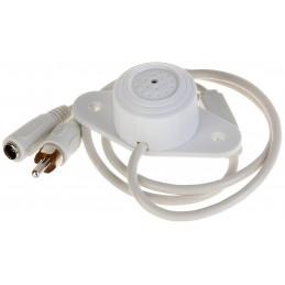 Microfono Amplificado Dahua HAP100 Omnidireccional Alcances Maximo 40M Blanco