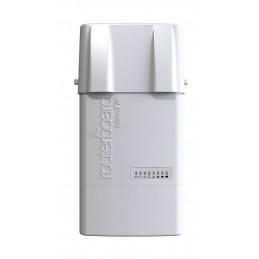 Router Exterior Mikrotik BaseBox5 RB912UAG-5HPnD-OUT 600Mhz 64MB 1xGigabit USB 2RP-SMA OSL4 POE PSU