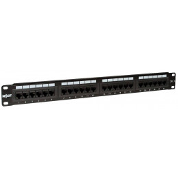 Patch Panel Nexxt AW191NXT06 24 Puertos Cat6 RJ45 19""