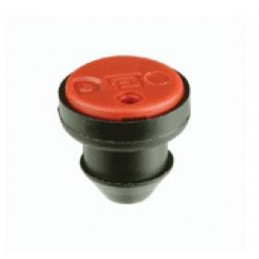 Gotero Insercion autocompensante JDW Katif Rojo 3.8 LPH-PC salida lateral, insertar Orificio 2.8mm 1000uds