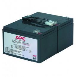 Cartucho de batería de recambio APC RBC6, N6