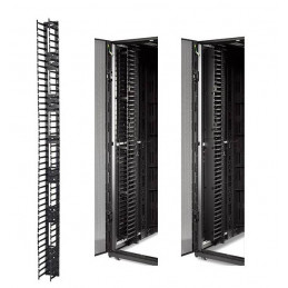 Organizador vertical de cables APC AR7585, 2 piezas, para gabinetes NetShelter SX, 45U.