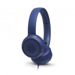 Auriculares On-ear JBL Tune JBLT500BLU 3.5mm c/micro Azul