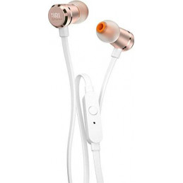 Auriculares In-ear JBL Tune T290 JBLT290RGD Extra Bass 3.5mm c/micro Gold