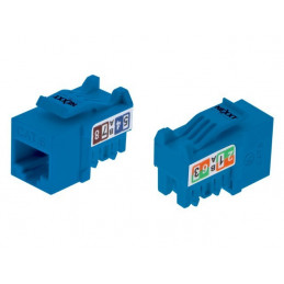 Modulo Keystone Jack Nexxt PCGKJC6TYRJBL RJ45 Cat6 Tipo110 Azul