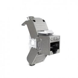 Modulo Keystone Jack Nexxt AW131NXT03 RJ45 Cat6a Tipo110 Plateado