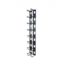 Organizador de Cables APC AR8442 Vertical para Bastidor 8 Cable Rings, Zero U