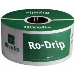 "Cinta de Goteo RODRIP 16mm Clase5000 x10cm 5LPH D5/8"" Rollo 3810M JDW"