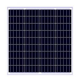 Panel Solar Policristalino 50W 12V - 77x51.5x3cm, ODA50-18-P Osda