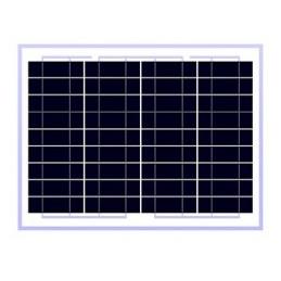 Panel Solar Policristalino 10W 12V - 35.5x25x1.8cm, ODA10-18-P Osda