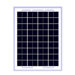 Panel Solar Policristalino 5W 12V - 27.5x19.5x1.7cm, ODA5-18-P Osda