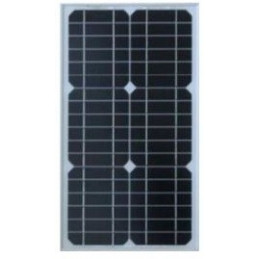 Panel Solar Monocristalino 30W 12V - 67.8x35.5x2.5cm, ODA30-18-M Osda
