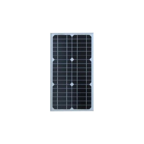 Panel Solar Monocristalino 20W 12V - 51x35.5x2.5cm, ODA20-18-M Osda