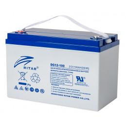 Bateria Gell Ritar DG12-100 12V 100Ah Terminal F5/F12 32.8x17.2x21.5cm