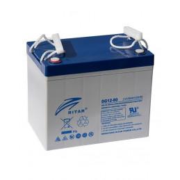 Bateria Gell Ritar DG12-80 12V 80Ah Terminal F11/F15 26x16.9x21.1cm