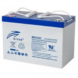 Bateria Gell Ritar DG12-65 12V 65Ah Terminal F5/F11 35x16.7x18.2cm