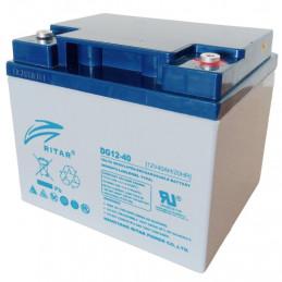Bateria Gell Ritar DG12-40 12V 40Ah Terminal F4/F11 19.8x16.6x16.9cm