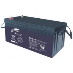 Bateria AGM VRLA Ritar RA12-200 12V 200Ah Terminal F10/F16 20x52.2x22.3cm
