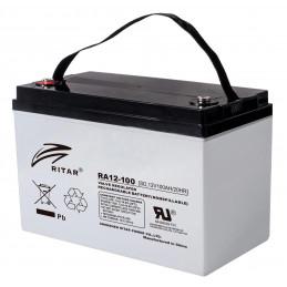 Bateria AGM VRLA Ritar RA12-100 12V 100Ah Terminal F5/F12 32.8x17.2x22.2cm