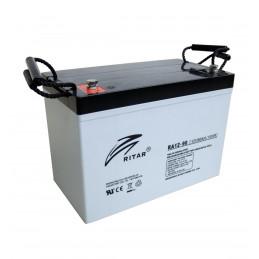 Bateria AGM VRLA Ritar RA12-90 12V 90Ah Terminal F12/F15 30.6.5x16.9x21cm