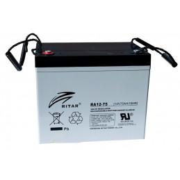 Bateria AGM VRLA Ritar RA12-75 12V 75Ah Terminal F11/F15 26x16.9x21cm