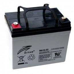 Bateria AGM VRLA Ritar RA12-33 12V 33Ah Terminal F7/F11 19.5x13x15.9cm