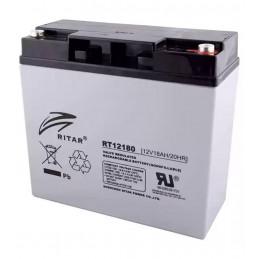 Bateria AGM VRLA Ritar RT12180 12V 18Ah Terminal F3/F13 18.1x17.7x16.7cm