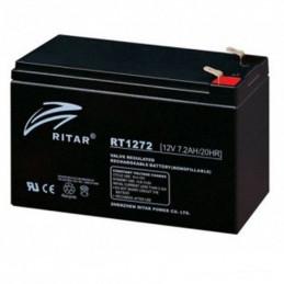 Bateria AGM VRLA Ritar RT1272 12V 7.2Ah Terminal F1/F2 15.1x6.5x9.4cm