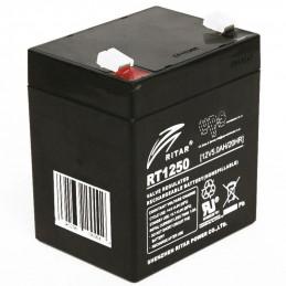 Bateria AGM VRLA Ritar RT1250 12V 5Ah Terminal F1/F2 9x7x10.1cm
