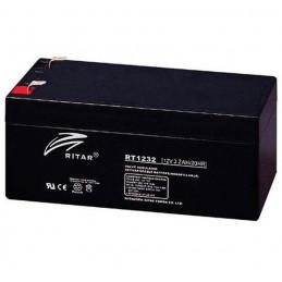 Bateria AGM VRLA Ritar RT1232 12V 3.2Ah Terminal F1 13.4x6.7x6cm