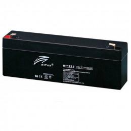 Bateria AGM VRLA Ritar RT1223 12V 2.3Ah Terminal F1 17.7x3.5x6.2cm