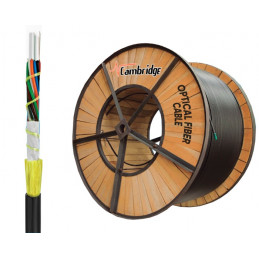 Cable de Fibra optica ADSS 12 Fibras Rollo 4KM Monomodo, CAM-ADSS-12BI Cambridge