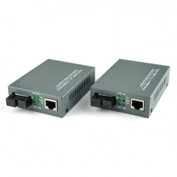Media Converter HTB-GS-03 Fast Ethernet RJ45 10/100/1000M a Fibra Optica SC